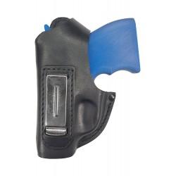 IWB 1-1Li Leder Holster für Zoraki 906 schwarz für Linkshänder