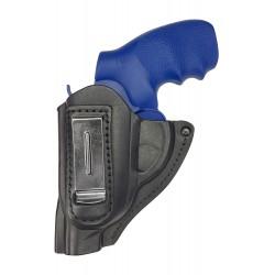 IWB 11 Fondina in pelle per revolver Smith & Wesson 38 nero VlaMiTex