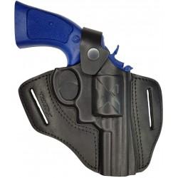 R3 Leder Revolverholster L Frame 3 zoll Größe M Size VlaMiTex