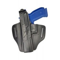 B25Li Leder Holster für CZ SP-01 Phantom Linkshänder VlaMiTex