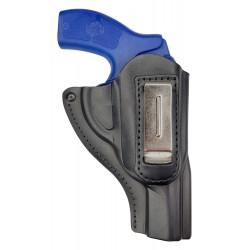 IWB 12 Leder Revolver Holster J Frame S für Smith & Wesson 60 Lauf 3 Zoll VlaMiTex
