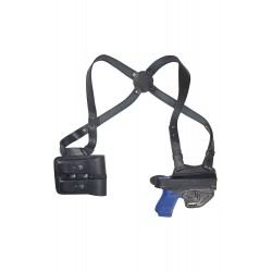 S1M2 Leder Schulterholster Holster für Glock 17 19 22 23 25 31 32 38 44 45 48