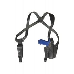 S2 Leder Schulterholster für Sig Sauer P226 Holster schwarz VlaMiTex