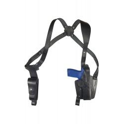 S24 Leder Schulterholster für Sig Sauer P250 Full size Holster schwarz VlaMiTex