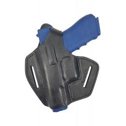 BXLi Leder Gürtel Holster für Glock 17 22 31 37 Pistolenholster schwarz für