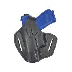 BXLi Leder Gürtel Holster für Glock 19 23 32 Pistolenholster schwarz für