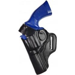 R4Li Leder Revolver Holster für Steel Cop 3 mit 4 zoll Lauf für Linkshänder