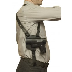 S1Li Schulterholster Holster für Walther PPQ M2 für Linkshänder VlaMiTex