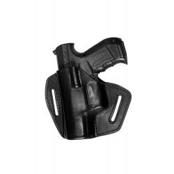 UXLi Pistolen Leder Holster für Heckler Koch HK P10 USP Compact für Linkshänder