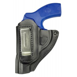 IWB 11Li Holster en cuir pour Revolver Smith & Wesson 640 Noir pour gauchers VlaMiTex