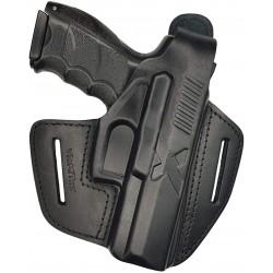 B19 Pistolera de piel para Röhm RG96 negro VlaMiTex