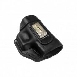 IWB 3 Pistolera de piel para Browning GPDA negro VlaMiTex