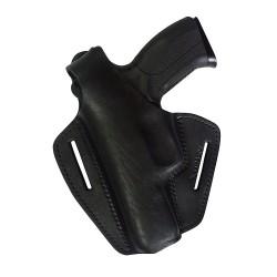 B2Li Leder Gürtel Holster für Grand Power K100 schwarz für