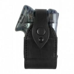 B12 Holster de ceinture en cuir pour Guardian Angel II Noir VlaMiTex