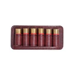 J10 Étui à cartouches 12 calibre marron VlaMiTex