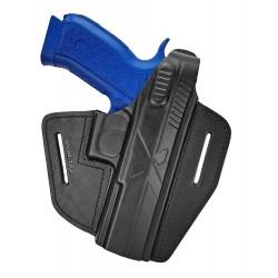 B15 Кобура кожаная для пистолета CZ SP-01 Phantom, VlaMiTex
