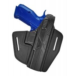 B15 Pistolera de piel para CZ Shadow 2 negro VlaMiTex