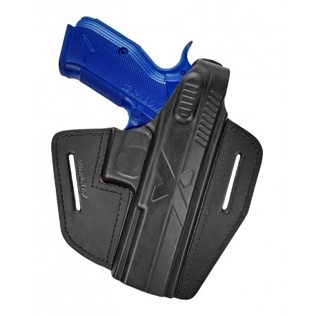 B15 Кобура кожаная для пистолета CZ Shadow 2, VlaMiTex