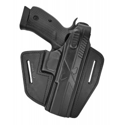 B15 Кобура кожаная для пистолета CZ SP-01 Shadow 1, VlaMiTex