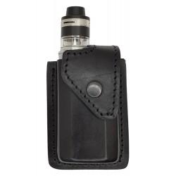i2 Чехол кожаный для Aspire Feedlink черный, VlaMiTex