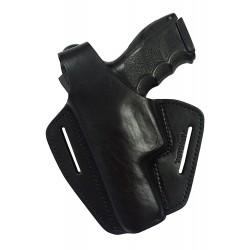 B2Li Leder Gürtel Holster für HK P30 P30L schwarz VlaMiTex