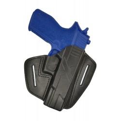 U9 Pistolera de cuero para Sig Sauer P227 negro VlaMiTex
