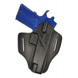 U23 Leather Holster for Springfield 1911 black VlaMiTex
