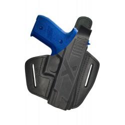 B27 Pistolera de piel para Sig Sauer P229 negro VlaMiTex