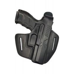 B19 Pistolera de piel para Heckler & Koch P30 negro VlaMiTex