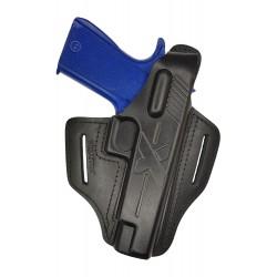 B23 Pistolera de piel para Colt 1911 negro VlaMiTex