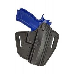 U15 Pistolera de cuero para CZ Shadow 2 negro VlaMiTex