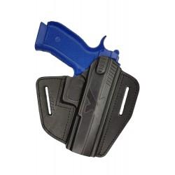 U15 Leder Holster für CZ SP-01 Phantom Schnellziehholster schwarz VlaMiTex