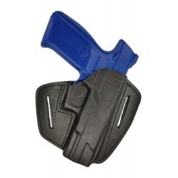 U9 Pistolera de piel para Ruger 9E negro VlaMiTex