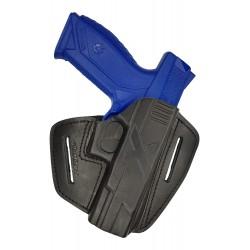 U9 Pistolera de piel para Ruger American negro VlaMiTex