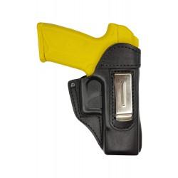IWB 3 Pistolera de piel para Ruger Security 9 negro VlaMiTex