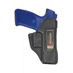 IWB 3 Pistolera de piel para Ruger SR9 negro VlaMiTex
