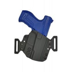 Hoeppner & Schumann Kydex Holster pour Walther P99 H1 Noir VlaMiTex