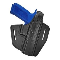 B15 Pistolera de piel para CZ 97B negro VlaMiTex