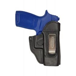 IWB 6 Fondina in pelle per Sig Sauer P250 Compact nero VlaMiTex