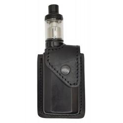 i2 Bolsa de cuero para Eleaf ikonn 220 negro VlaMiTex