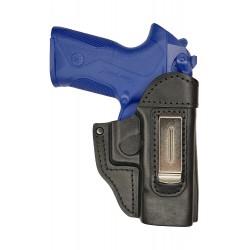 IWB 6 Pistolera de piel para Beretta PX4 Storm negro VlaMiTex