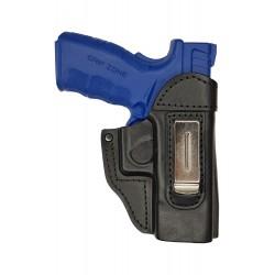 IWB 6 Pistolera de piel para Springfield XD45 negro VlaMiTex