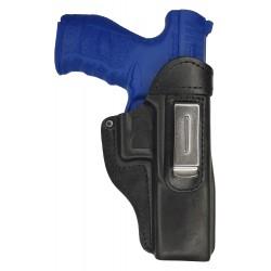 IWB 7 Leder Holster für Walther PPQ schwarz VlaMiTex
