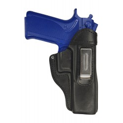 IWB 7 Leather Holster for Smith Wesson 4506 black VlaMiTex
