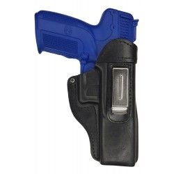 IWB 7 Pistolera de piel para FN Five Seven negro VlaMiTex