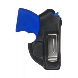IWB 1-1 Holster en cuir pour pistolet Zoraki 906 Noir VlaMiTex