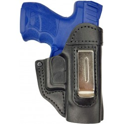IWB 5 Leather Holster for Heckler & Koch for SFP9 SK Subcompact black VlaMiTex