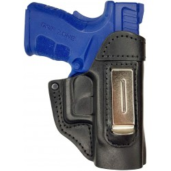 IWB 5 Leather Holster for Springfield XD black VlaMiTex