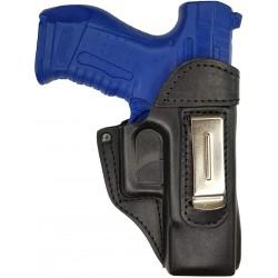 IWB 3 Pistolera de piel para Walther P99 negro VlaMiTex
