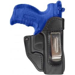 IWB 2 Funda de piel para Walther P22 negro VlaMiTex
